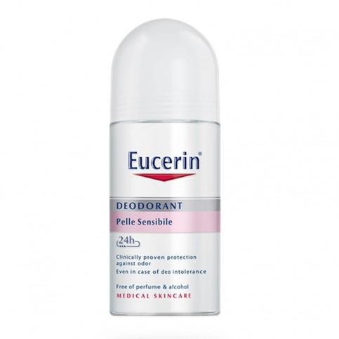 Eucerin 24 h Deodorante Pelle Sensible Roll-on,