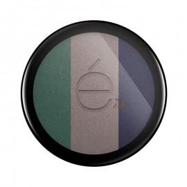 Rougj Eyeshadow 01 Ombretto Trio Pavone Grigio Blu Navy, 5.5 gr