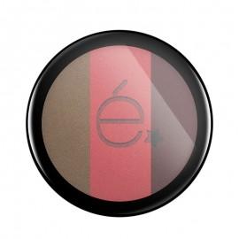 Rougj Eyeshadow 03 Ombretto Trio Sabbia Rosa Tortora, 5.5 gr