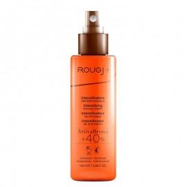 Rougj Attiva Bronz +40% Spray Intensificatore dell' Abbronzatura, 100 ml