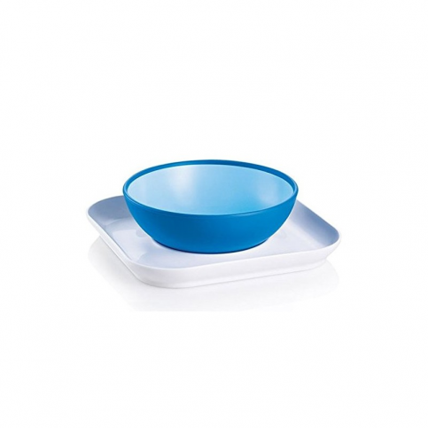 MAM Baby's Bowl and Plate, 6+ mesi