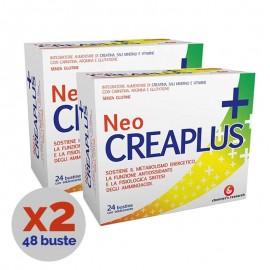 Neocreaplus Integratore Alimentare, Promo 2 confezioni da 24 Bustine