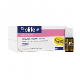Prolife Pediatrico, 12 flaconi monodose 8 ml