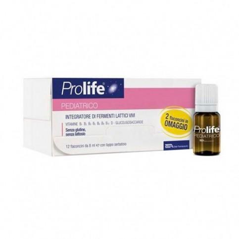 Prolife Pediatrico, 12 flaconi monodose 8 ml