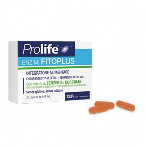 Prolife Enzimi Fitoplus, confezione da 20 capsule