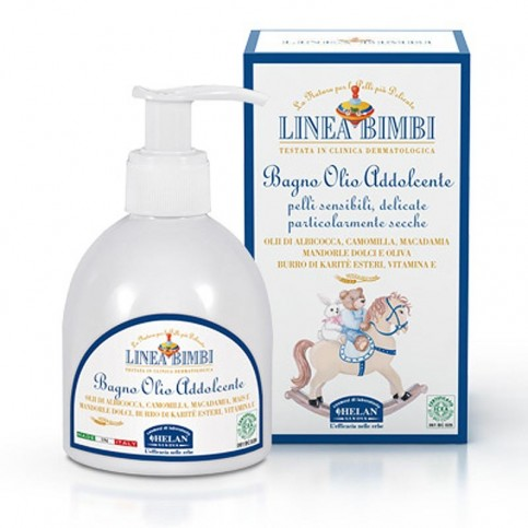 Helan Linea Bimbi Bio Bagno Olio Addolcente, 200 ml