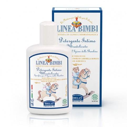 Helan Linea Bimbi Bio Detergente Intimo Ultradelicato, 125 ml