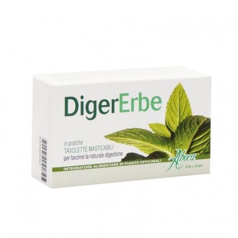 Aboca Digererbe Tavolette, blister 30 tavolette da 1,5 g