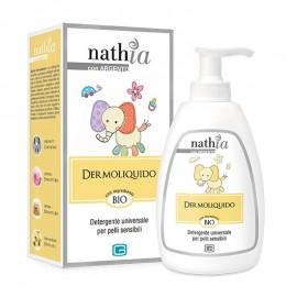 Nathia Dermoliquido Detergente Universale per Pelli Sensibili, 250 ml