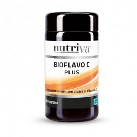 Nutriva Bioflavo C plus, 60 compresse da 500 mg