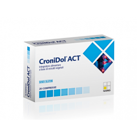 CronidolAct, 20 compresse in blister