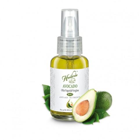 Huilerie Avocado Olio Vegetale Vergine Biologico, 50 ml
