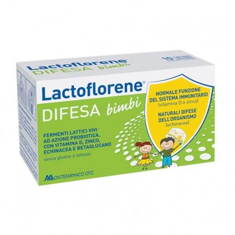 Lactoflorene DIFESA Bimbi, 10 flaconcini