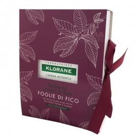 Klorane Cofanetto Foglie di Fico, Gel doccia 200 ml e Latte corpo 200 ml