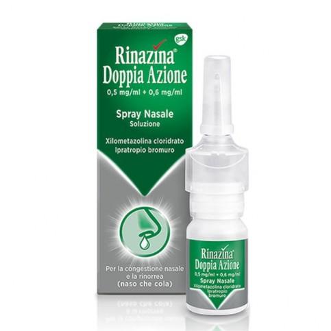 Rinazina Doppia Azione Spray Nasale 5mg+6mg, 10 ml