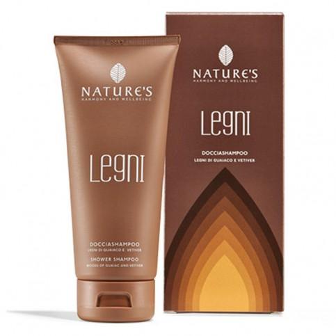 Nature's Docciashampoo Idratante Legni, 200 ml