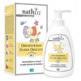 Nathia Dermocrema Fluida Delicata, flacone dosatore da 200 ml