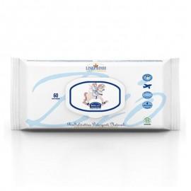 Helan Linea Bimbi Bio Salviettine Detergenti Naturali, 60 salviette