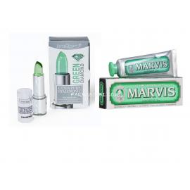 EPH GREEN DIAMOND, Stick labbra  4ml+ Marvis Strong Mint