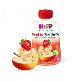 Hipp Frutta Frullata Mela, Banana e Fragola, 90 g