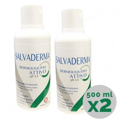 Salvaderma Dermoliquido Attivo, flacone 500 ml