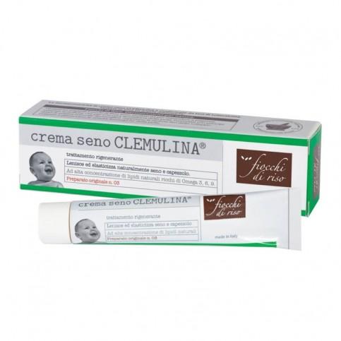 Fiocchi di Riso Crema Seno Clemulina Trattamento Rigenerante, 15 ml