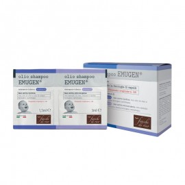 Fiocchi di Riso Olio Shampoo EMUGEN Detergente Bifasico, 10+10 bustine
