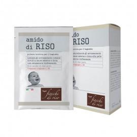 Fiocchi di Riso Amido di RISO Polvere Lenitiva Bagnetto, 5 buste da 20 g