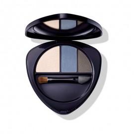 Dr. Hauschka Eyeshadow Trio 01 Sapphire, 4.4 g