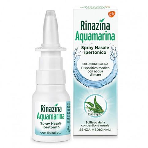 Rinazina Acquamarina, Spray Nasale 20 ml - Raffreddore Sinusiti