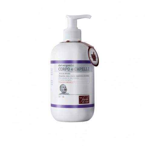 Fiocchi di Riso Detergente Corpo e Capelli formula delicata, 400 ml