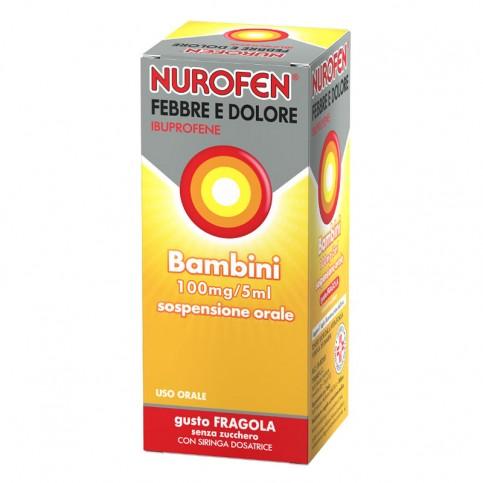 Nurofen Febbre Dolore Bambini BB100MG/5ML, 150 ml