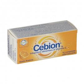 Cebion Effervescente Vitamina C gusto Arancia, 10 compresse