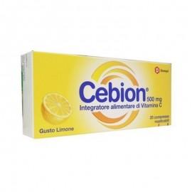 Cebion Vitamina C gusto Limone,  20 compresse masticabili