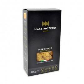 Massimo Zero Pipe Rigate senza glutine, 400 g