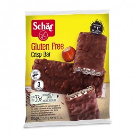 Schär Crisp Bar Wafer senza glutine, 3 x 35 g