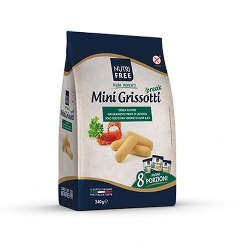Nutrifree Mini Grissotti senza glutine, 240 g