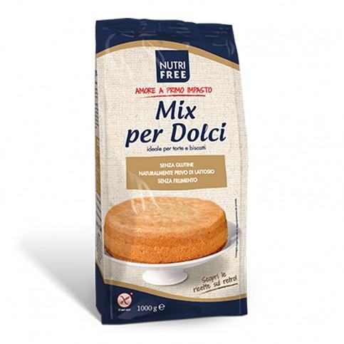 Nutrifree Mix per Dolci preparato senza glutine, 1 kg
