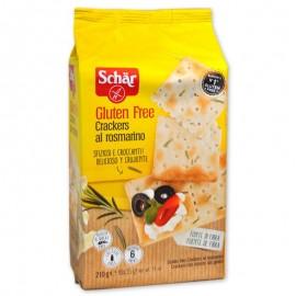 Schär Crackers al rosmarino senza glutine, 210 g
