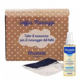 Mustela Cofanetto Soffici Massaggi con Olio idratante, 100 ml