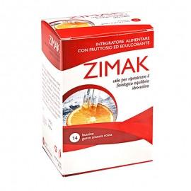 Zimak integratore alimentare, 14 bustine gusto Arancio