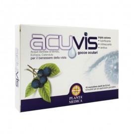 Planta Medica Acuvis gocce oculari, 10 monodose sterili da 0,5 ml richiudibili