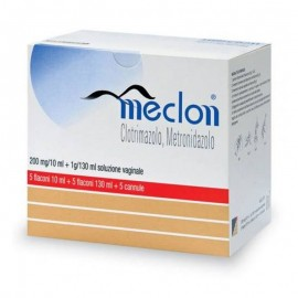 Meclon Soluzione Vaginale 200 mg/10 ml + 1 g/130 ml