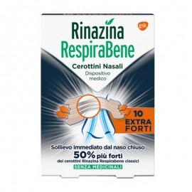 Rinazina RespiraBene Extra Forti, 10 cerotti