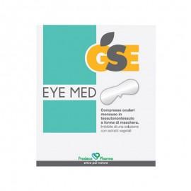 GSE Eye Med, 10 compresse oculari a forma di maschera