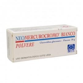 Neomercurocromobianco 5 Mg/G Polvere Cutanea, 20 g