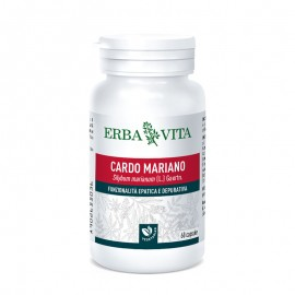 Erba Vita Cardo Mariano, 60 capsule vegetali 400 mg