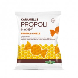 Erba Vita Propoli EVSP Caramelle gusto Miele, Sacchetto da 65 g