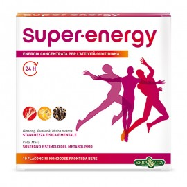Erba Vita Super Energy, 10 flaconcini da 12 ml