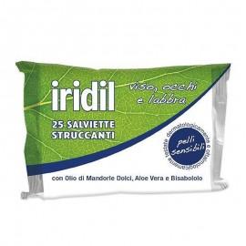 Iridil Salviette Struccanti, 25 pezzi